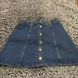 H&M denim skirt